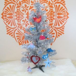 Handmade Plush Felt Ornaments!